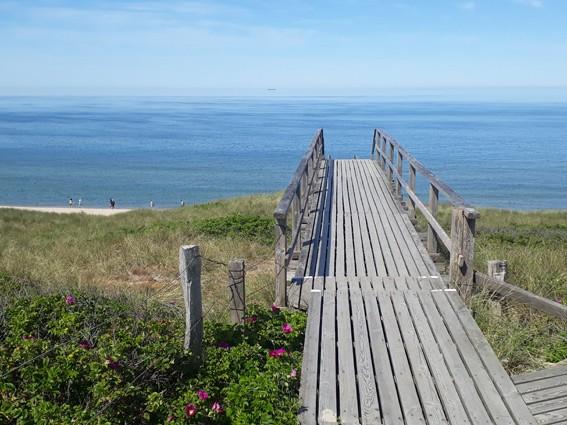Steg Meer Strand Sylt