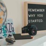 Schild Motivation Start